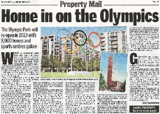 Daily Mail, Home in on the Olympics2